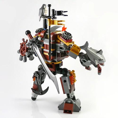 LEGO The Movie 70807 MetalBeard's Duel 19