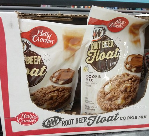 Betty Crocker A&W Root Beer Float Cookie Mix