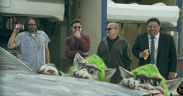 圖四、HTC宣布推出創新品牌平台行銷計畫CHANGE,全新品牌定位與大規模行動,鼓勵消費者成為改變推動者,國際巨星Robert Downey Jr. 跨界攜手合作揭開序幕。