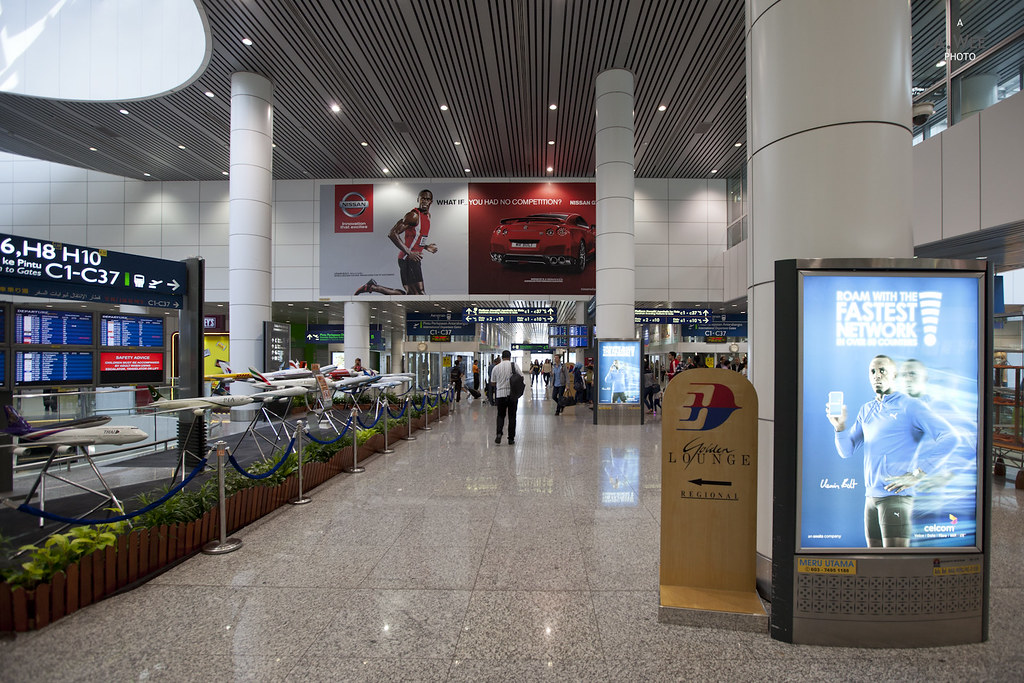 Airplane Model Display Area