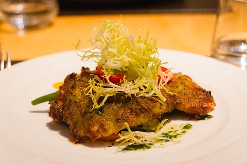 Mary's Chicken Paillard