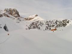 Skitour Großer Jaufen Rossalm in Sicht
