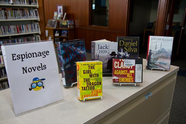Espionage Novels