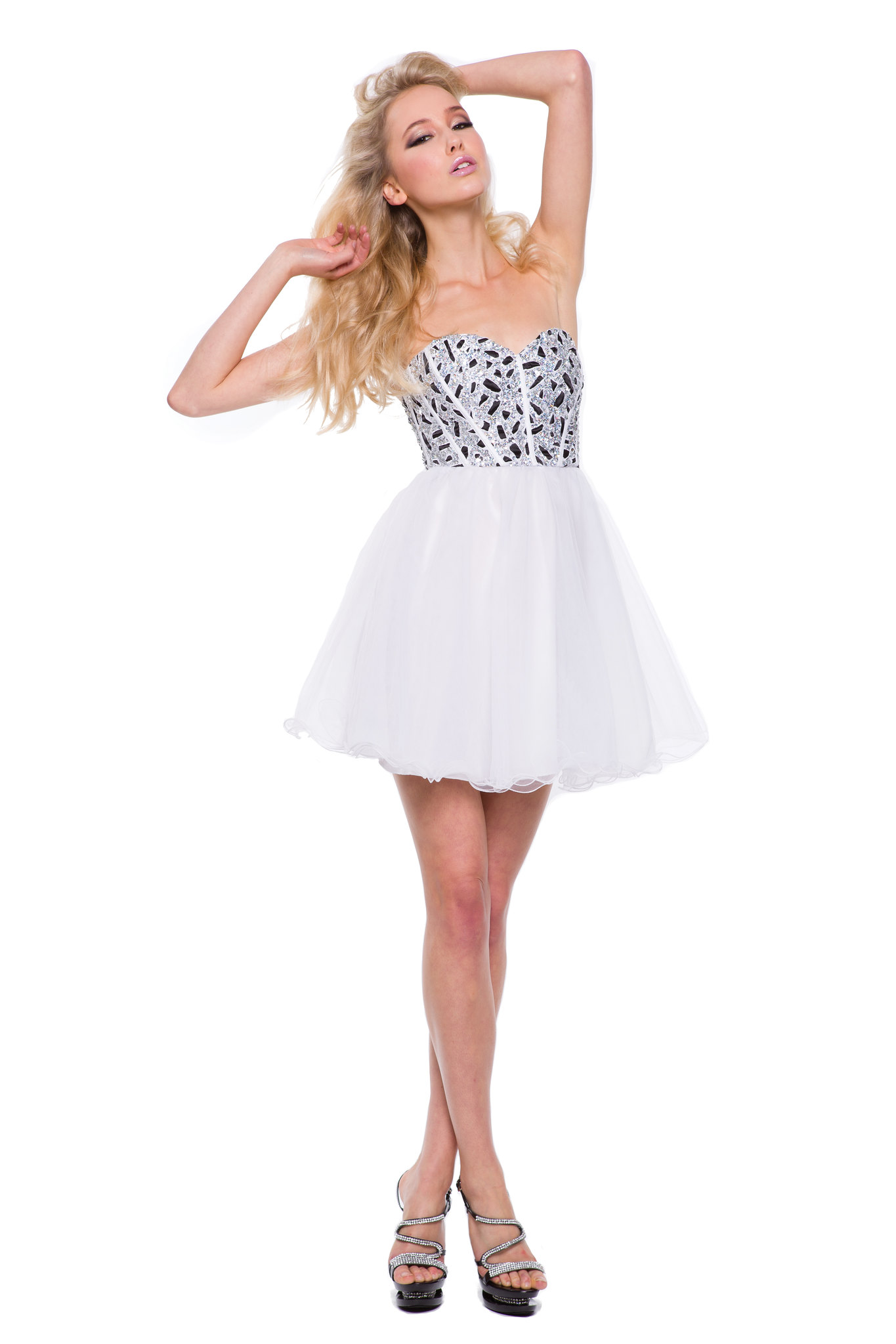 SHORT FITTED CORSET BODICE PROM DRESS COCKTAIL HOMECOMING WINTER FORMAL PAGEANT  eBay