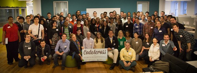 BetaNYC 2014 class photo at #CodeAcrossNYC