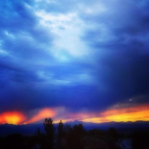 #denver #sunset redo w #orton filter by @MySoDotCom