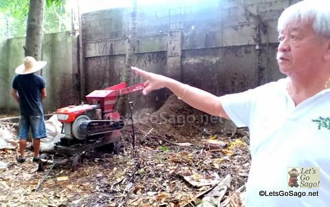 Actual Shredding in May's Garden
