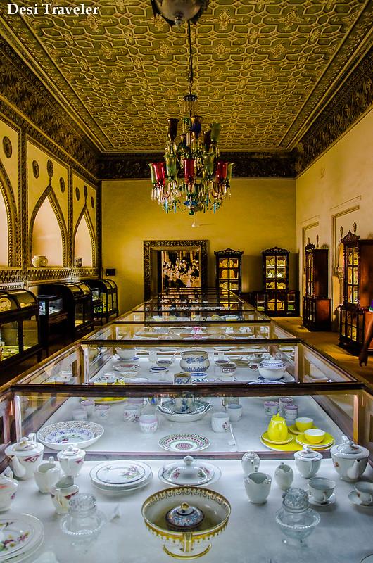 Royal Dining set Chowmalla Palace