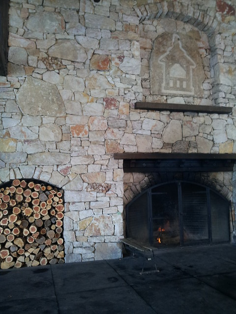The Fireplace at the skating pavilion