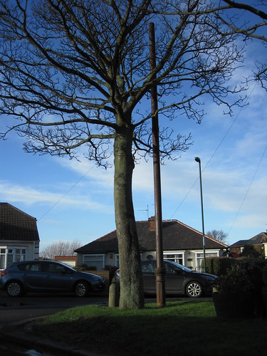 Stench Pipe, Brooksbank Avenue Redcar