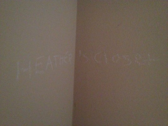 young Heather was here