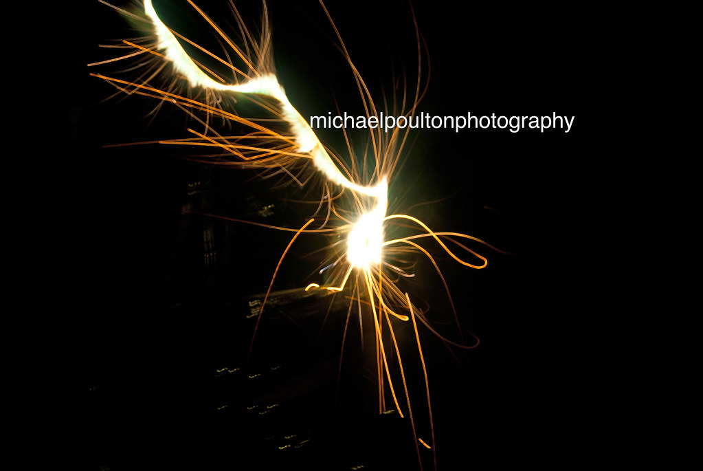 Result of camera movement during a long exposure