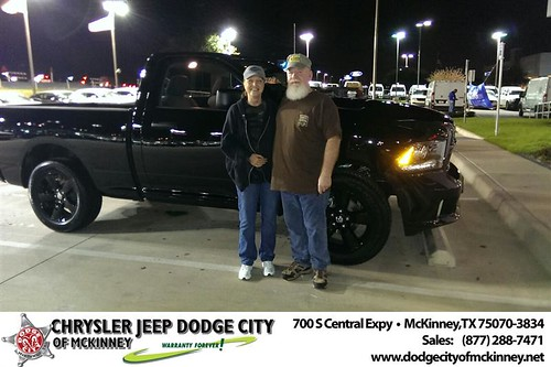 Thank you to Larry  Burgett on your new 2014 #Ram #1500 from Joe Ferguson  and everyone at Dodge City of McKinney! #LoveMyNewCar by Dodge City McKinney Texas