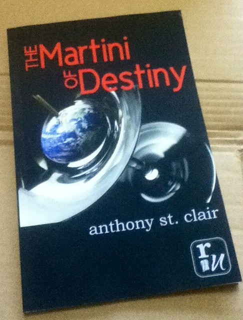 The Martini of Destiny comes to trade paperback