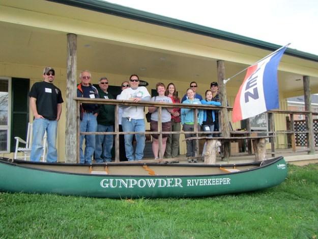 Gunpowder RIverkeeper Service Day