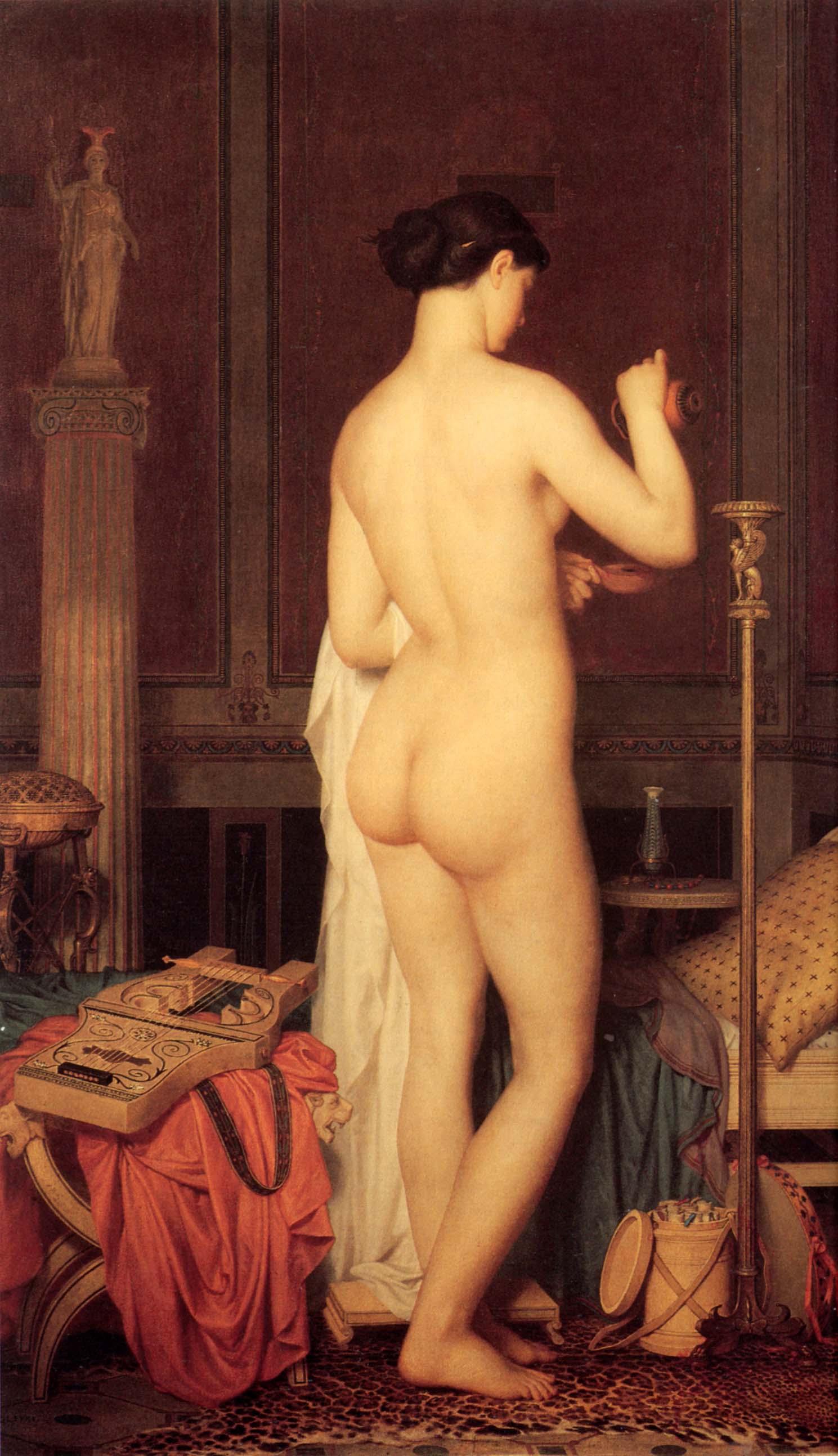 Marc-Charles-Gabriel Gleyre, Le coucher de Sappho, 1867, Musée cantonal des Beaux-Arts, Lausanne
