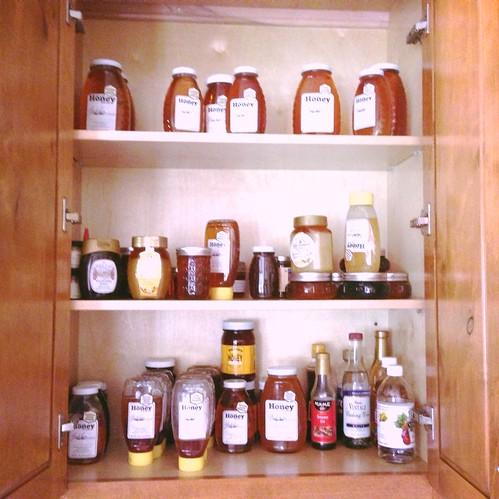 Local honey stock