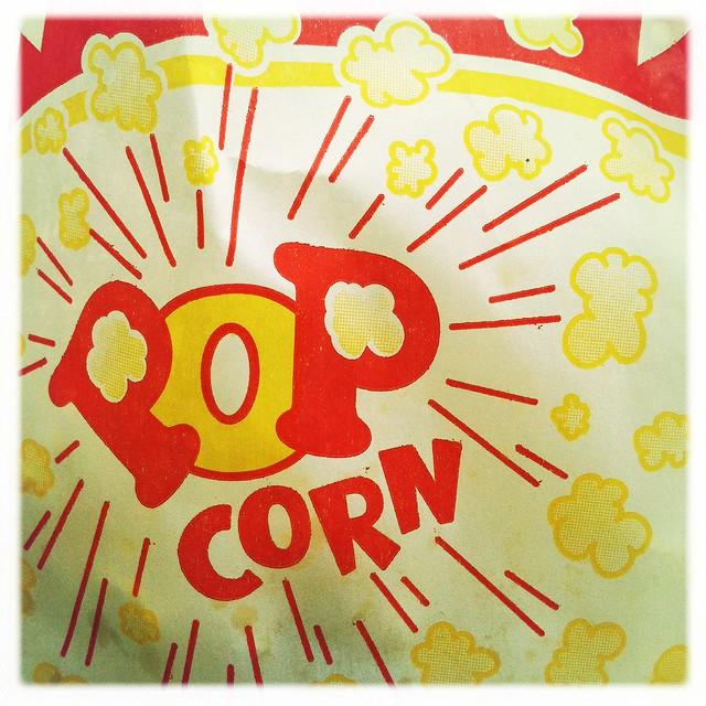 my sweetie brought me popcorn