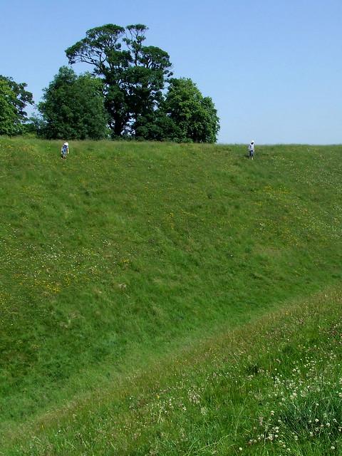 Avebury henge mound 1