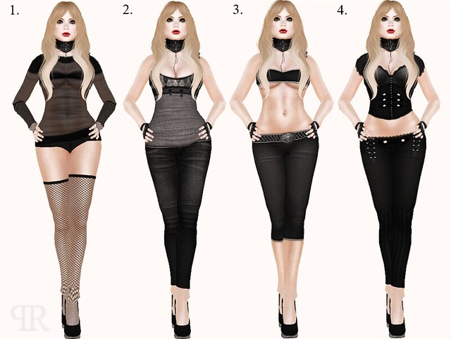 EvilKyoot Black Event Outfits
