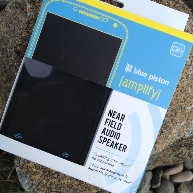Blue Piston Amplify Near Field Audio Speaker