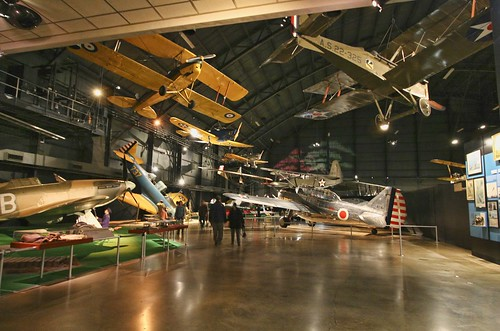 Early Years gallery at the National Museum of the USAF. Photo copyright Jen Baker/Liberty Images; all rights reserved. Pinning to this page is okay!