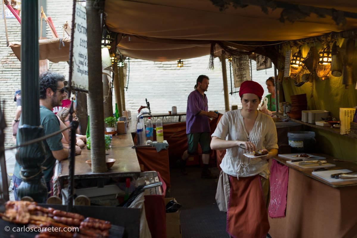 Comerciantes de artesanías