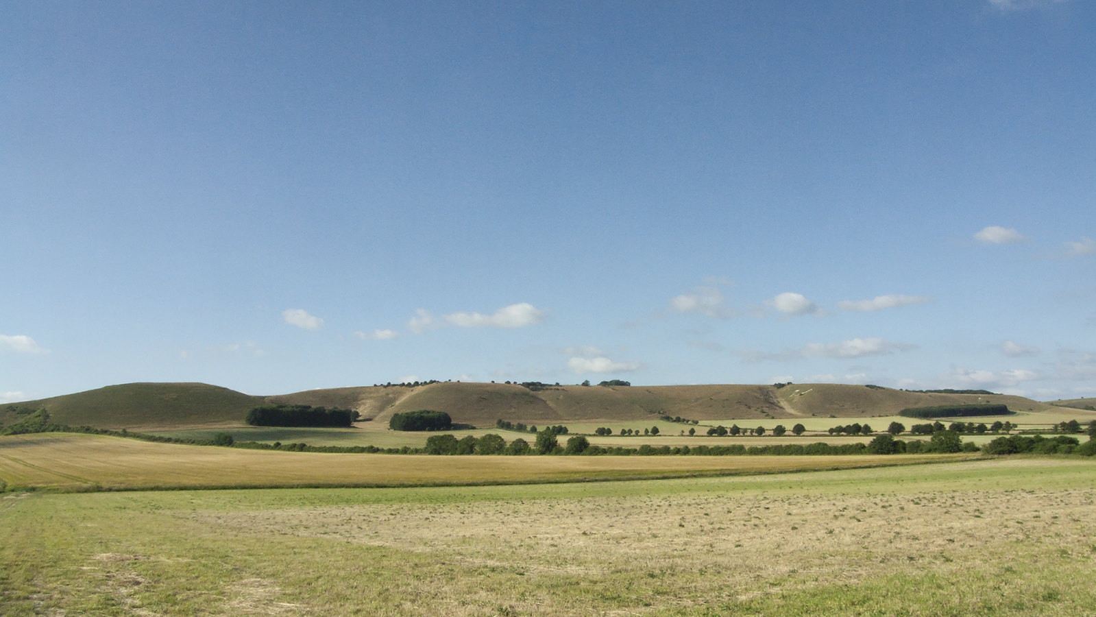 Downs Viewed from the Road to Alton Barnes