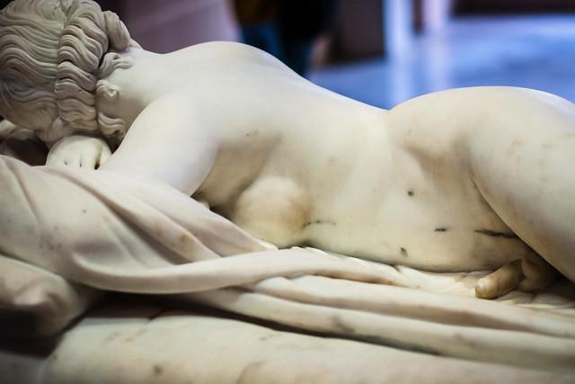 François Dominique Aimé Milhomme, Hermaphrodite, Lille, France, Le Palais Des Beaux Arts