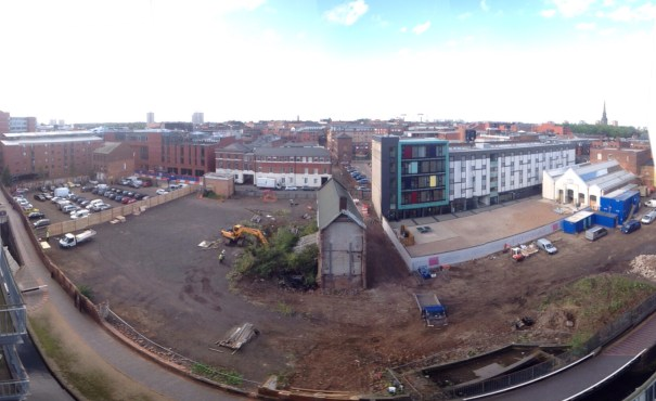 Newhall Square overview