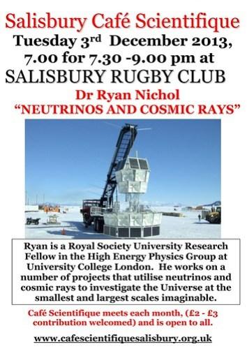 Poster for Ryan Nichol