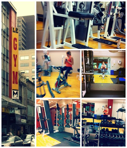 Hotel Gym Collage
