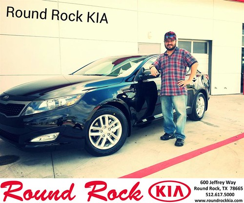 Thank you to Louis Salinas on your new 2013 #Kia #Optima from Kelly  Cameron and everyone at Round Rock Kia! #RollingInStyle by RoundRockKia