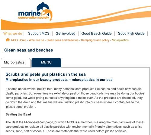 Microplastics | Marine Conservation Society