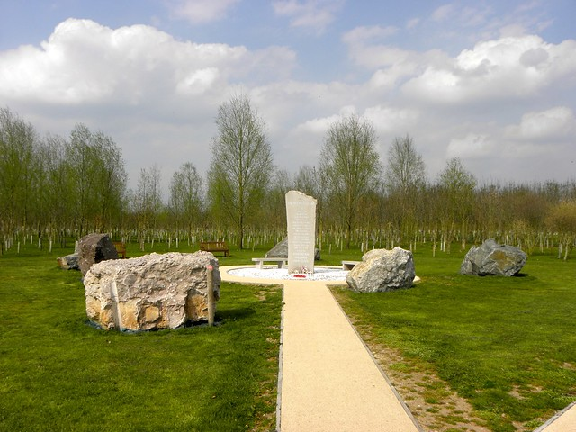 The Northern Ireland Memorial at the National Memorial Arboretum