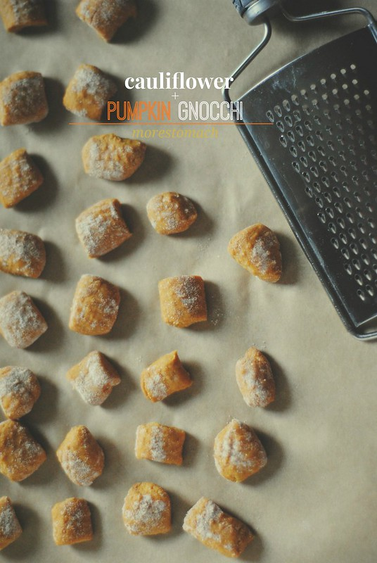 Cauliflower + Pumpkin Gnocchi
