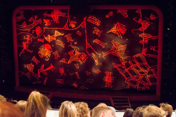 The Lion King Stage in Broadway New York