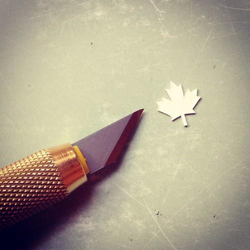 Tiny Maple Leaf