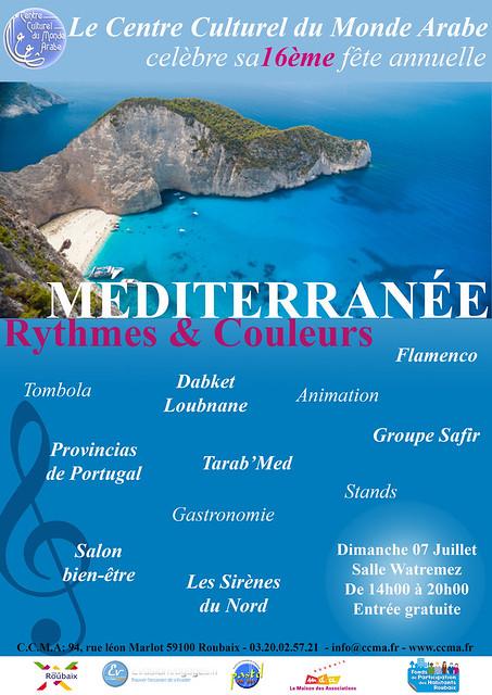 CCMA méditerranée rythmes et couleurs