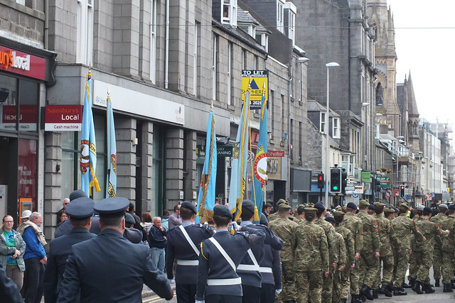 Armed Forces Parade Aberdeen