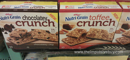 Nutri-grain Chocolatey and Toffee Crunch Granola Bars