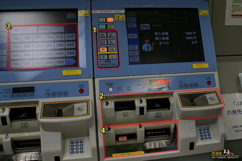 旅滿屋: [交通方案]日本搭電車~買車票篇
