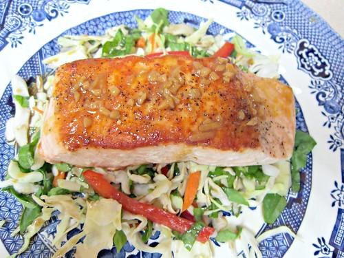 Salmon with Citrus-Soy Glaze 2