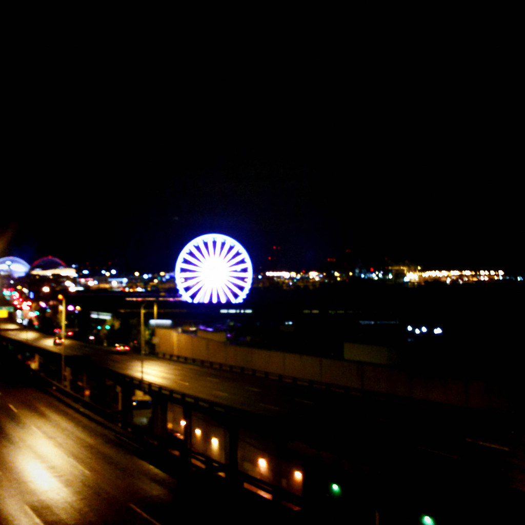 wheel in the night