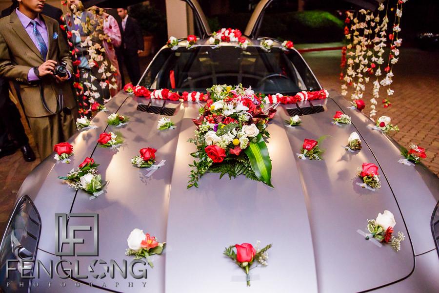 Baraat luxury car at Sonesta Gwinnett Place