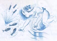 Menina Azul by lusografias