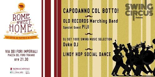 Swing Circus In Marcia Verso il Nuovo Anno | Capodanno 2013 a Roma by cristiana.piraino