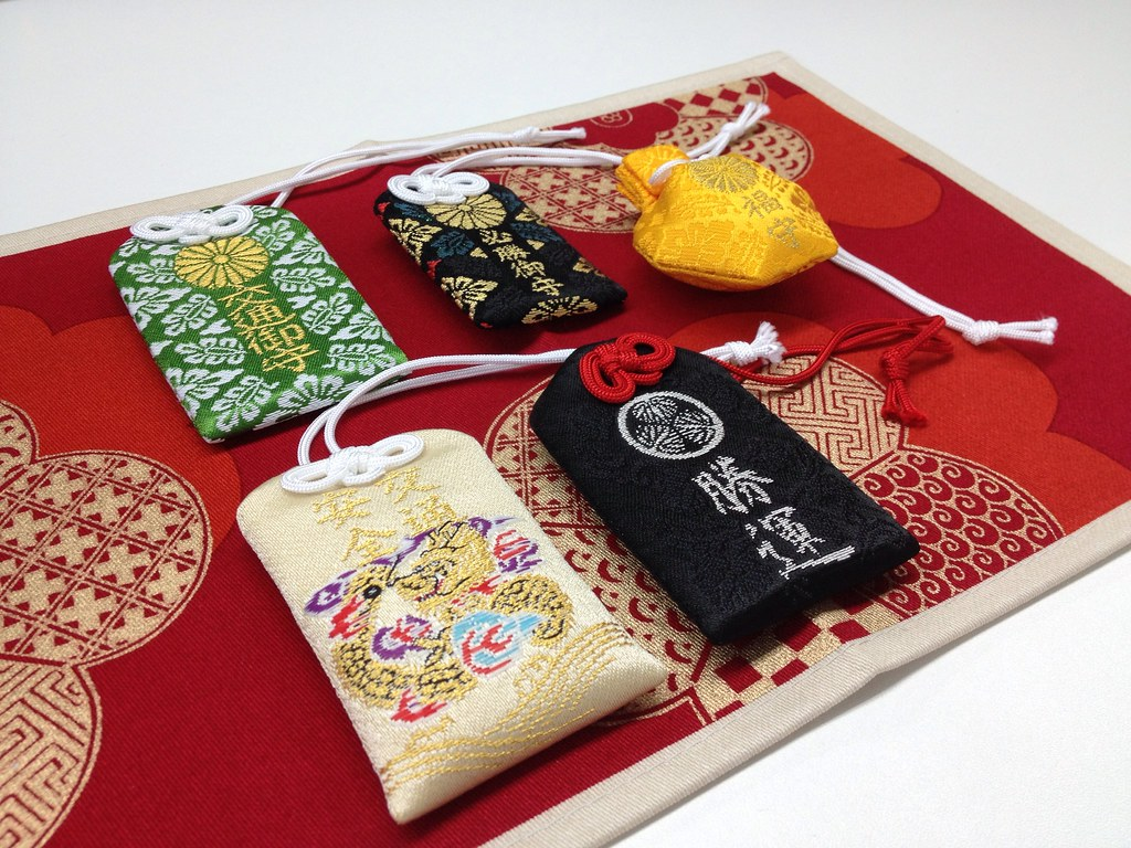 O-mamori: Japanese Amulets for Health, Happiness, and Safety