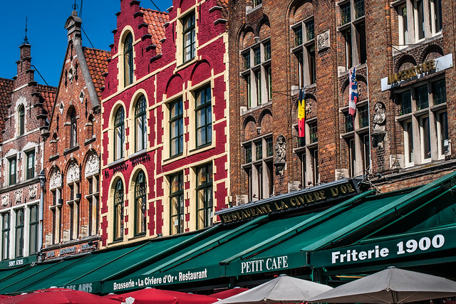 Bruges Markt Square Restaurants