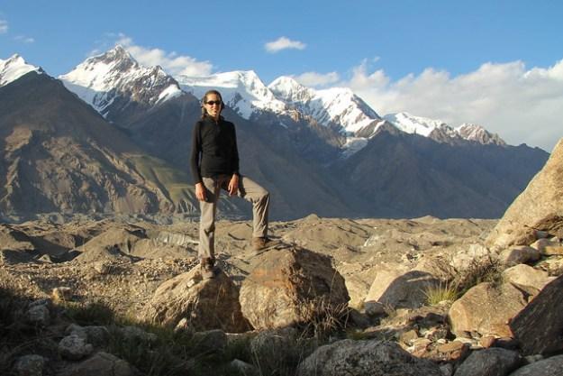 Peaks around Camp Glina. South Inylchek Glacier Trek